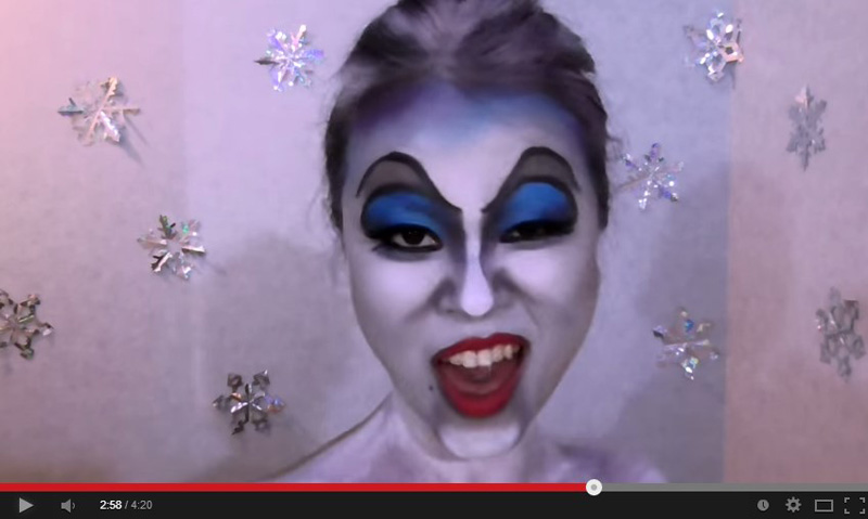 謎の美女「アナ雪で1人25役」「クォリティーの高い変顔」が話題に!スマホの歌姫動画が累計1000万再生サムネイル画像