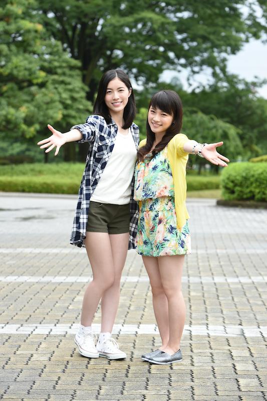 「もはや奇跡」川栄李奈、SKE48松井珠理奈とドラマ初共演にファン歓喜!2ショット写真も公開。