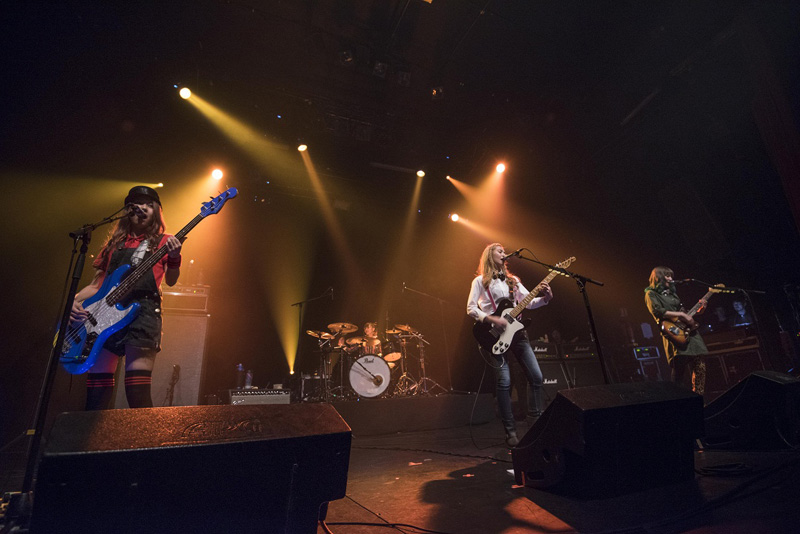 ガールズバンド世界代表SCANDAL ヨーロッパでも絶好調!!遂に海外公演スタートサムネイル画像