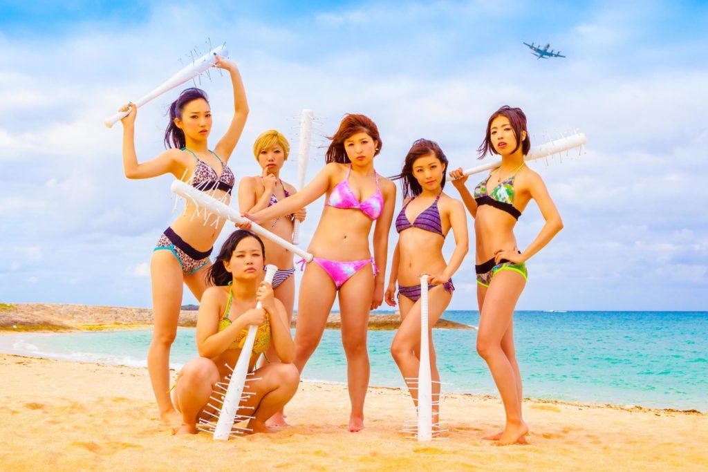 解散を控えたアイドルグループBiS ラストシングルでビキニ姿を解禁サムネイル画像