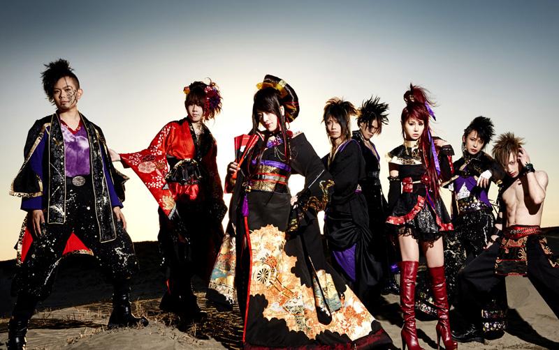 和楽器バンドのライブ映像が新宿巨大ビジョンで上映決定サムネイル画像
