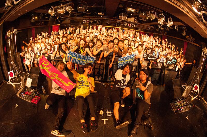 BLUE ENCOUNT、ツアー大阪ワンマン公演にて待望のメジャー・デビュー発表サムネイル画像