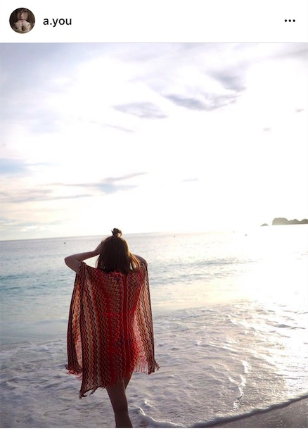 浜崎あゆみ、海で水着姿の写真公開に「透け感が」「やばい綺麗過ぎ」