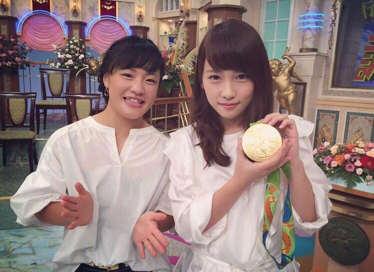 「めっちゃ似てる」川栄李奈と女子レスリング・登坂選手の奇跡の2ショットに反響!「もはや姉妹」サムネイル画像
