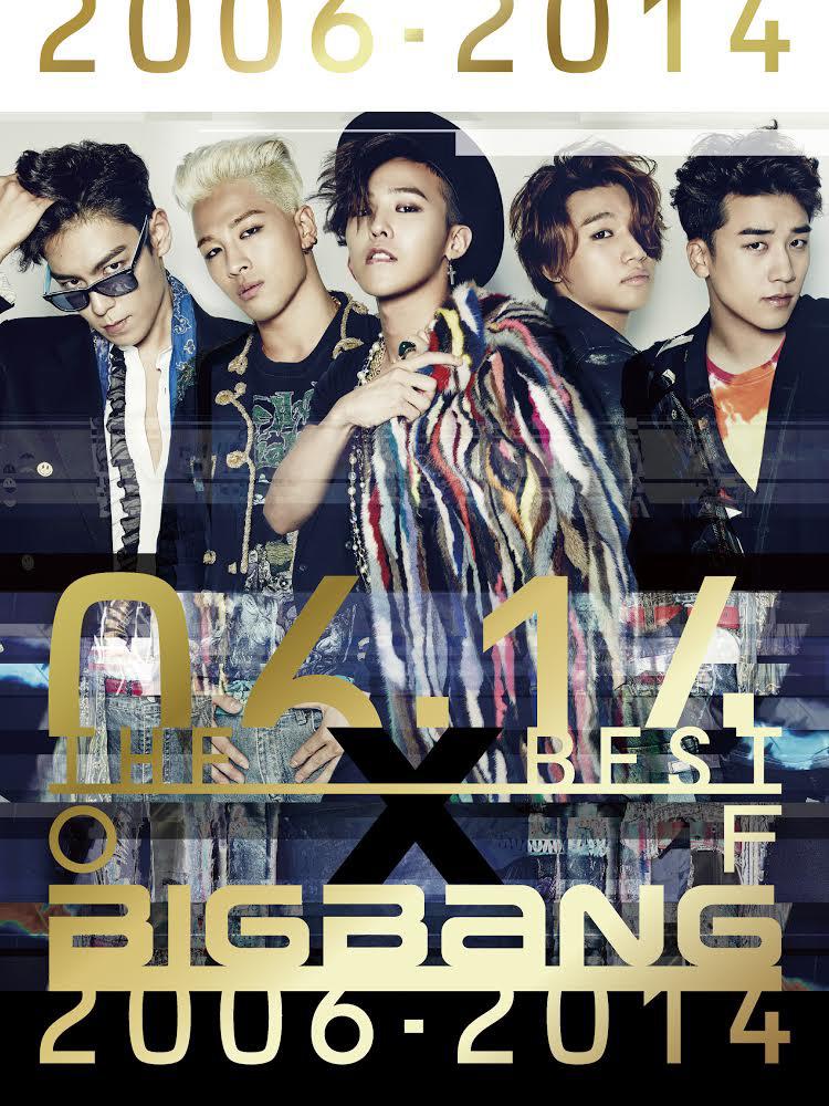 BIGBANG、日本デビュー5周年・5大ドームツアー開催を記念した全50曲収録完全ベストアルバムが初日オリコン1位スタートサムネイル画像