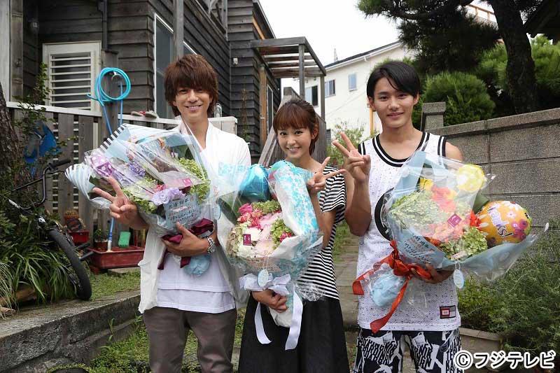 月9「好きな人がいること」桐谷美玲、山崎賢人、三浦翔平、野村周平が撮影終了を迎える