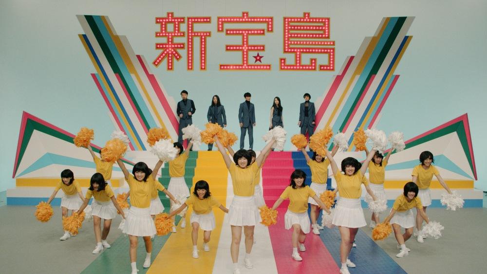 佐藤健・神木隆之介主演映画「バクマン。」の主題歌、サカナクションの新曲「新宝島」MVが完成!昭和感溢れるレトロでレトロでド派手な仕上りサムネイル画像