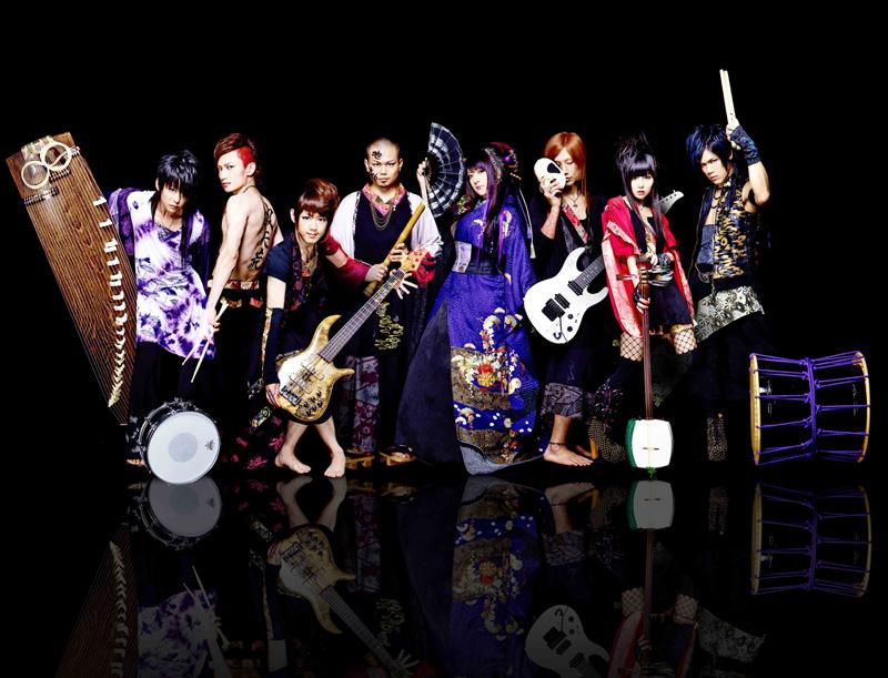 【海外反応】海外から大人気と噂の「和楽器バンド」って?サムネイル画像