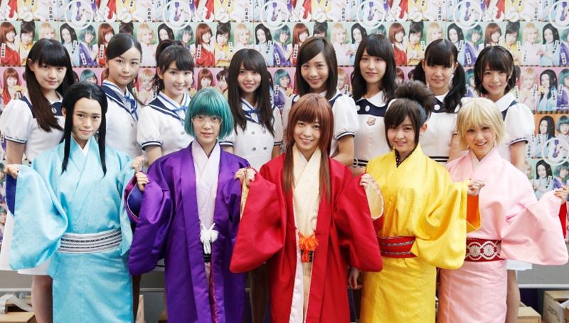乃木坂46 オールキャスト舞台、『じょしらく』スタート!!サムネイル画像