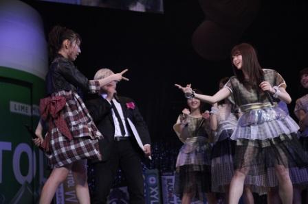 """HKT48vs乃木坂46で、HKT48が勝利!""""GUM ROCK FES. In 日本武道館""""開催サムネイル画像"""