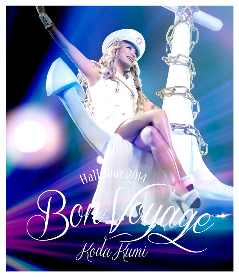 倖田來未、最新ライブ映像「Koda Kumi Hall  Tour 2014 ~Bon Voyage~」がいよいよ発売サムネイル画像