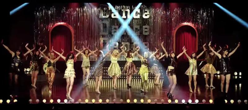"E-girlsがクラブ""EG""で華やかにセクシーに魅せる!9/30発売ニューシングル「Dance Dance Dance」MV公開サムネイル画像"