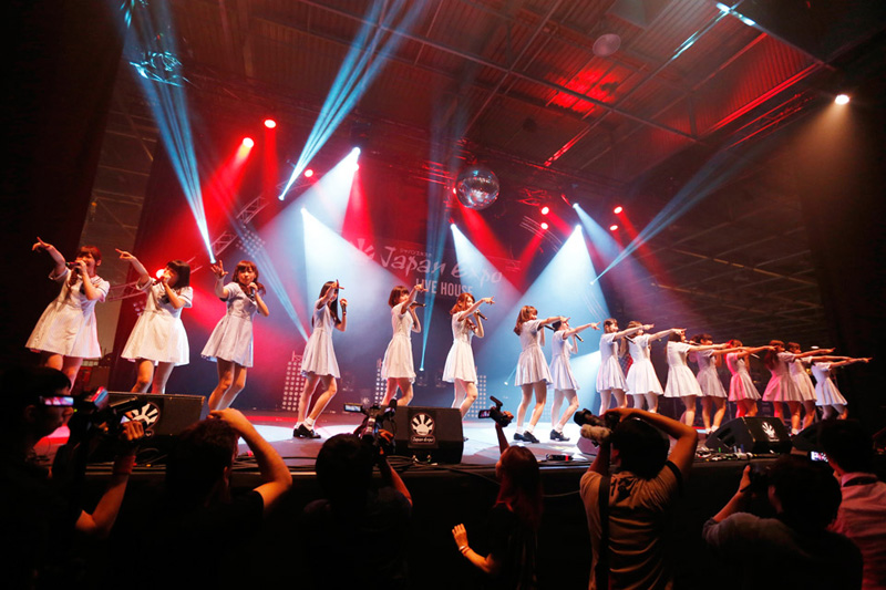 乃木坂46が初海外ライブ!JAPAN EXPO 2014 に出演サムネイル画像