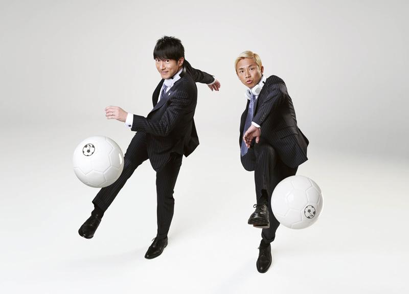 ウカスカジー(Mr.Children桜井和寿とラッパーのGAKU-MC)が歌う『勝利の笑みを 君と』が4つ目のタイアップ決定サムネイル画像