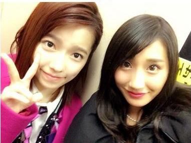 ぱるる、元気な姿見せる。元AKB48・小原春香が2ショットを公開サムネイル画像