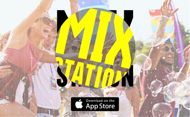 洋楽MIX CD聞き放題アプリ「MIX STATION」リリース!人気DJによる、MIXコンテンツもサムネイル画像