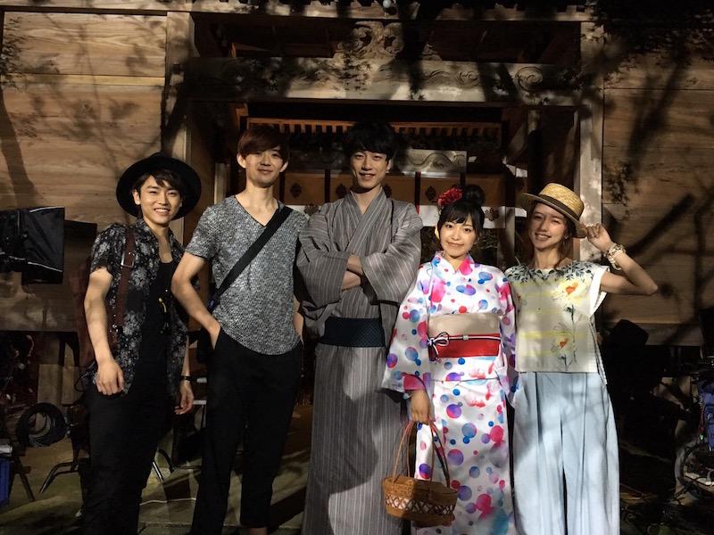 miwa&坂口健太郎、爽やか浴衣ショットが公開サムネイル画像
