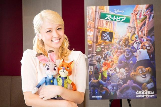 Dream Ami、ディズニー映画最新作 「ズートピア」の日本版主題歌に決定&ガゼル役の声優に抜擢サムネイル画像