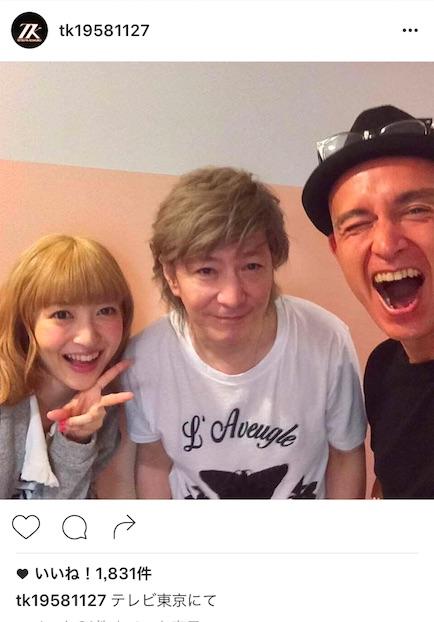 小室哲哉、3ショット写真も公開!「桂子も観てくれました」。神田沙也加をボーカルに迎えたglobeが「圧巻」「素敵すぎて」と絶賛!