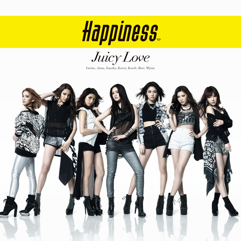 Happiness(from E-girls)始動!!5月28日発売シングル「JUICY LOVE」のジャケ写が公開サムネイル画像