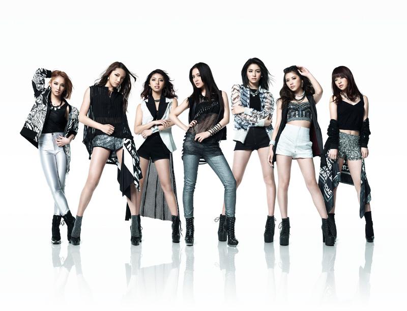 E-girlsを構成するグループHappiness!新曲「JUICY LOVE」が有線J-POPリクエストランキングで第1位を獲得サムネイル画像