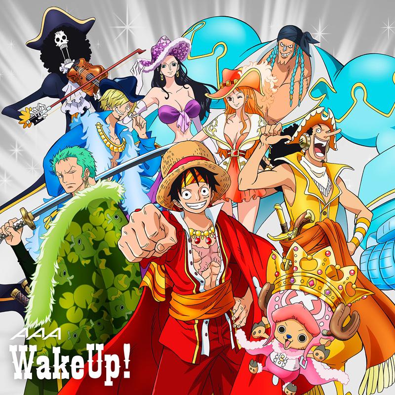 7/2発売のアニメ「ワンピース」主題歌SG・AAA「Wake up!」、ワンピース盤のジャケ写解禁サムネイル画像