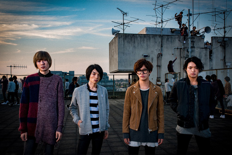 BLUE ENCOUNTがLINE LIVEに初登場決定。「はじまり」のミュージックビデオのフルバージョンもオンエアサムネイル画像