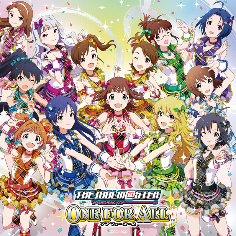 「THE IDOLM@STER MASTER ARTIST 3 Prologue ONLY MY NOTE」のジャケット写真が公開サムネイル画像
