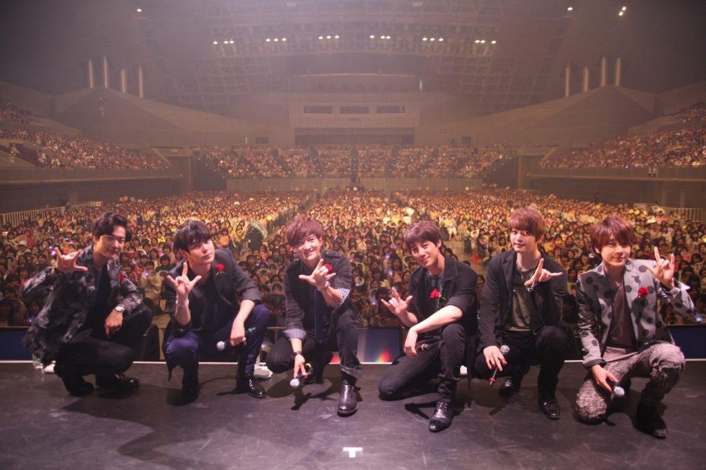 超新星「憧れの場所」武道館4days公演が決定!サムネイル画像