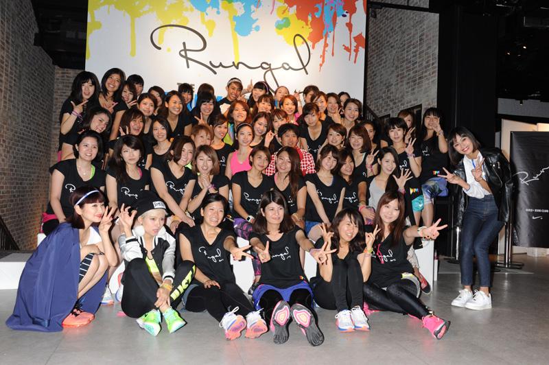 The SHEL'TTER TOKYOリニューアル記念で「RUNGAL THE TOKYO PLAY!」ランイベント開催サムネイル画像