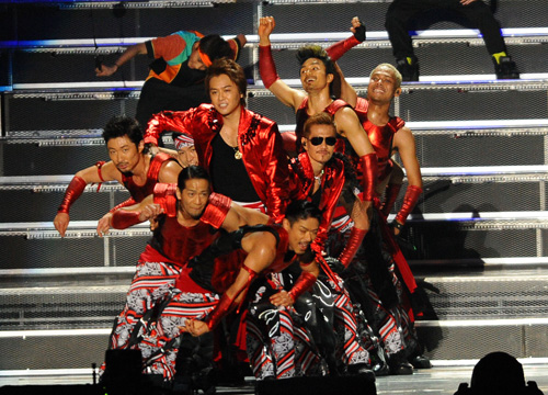 EXILE TRIBE PERFECT YEAR 2014 開催決定サムネイル画像