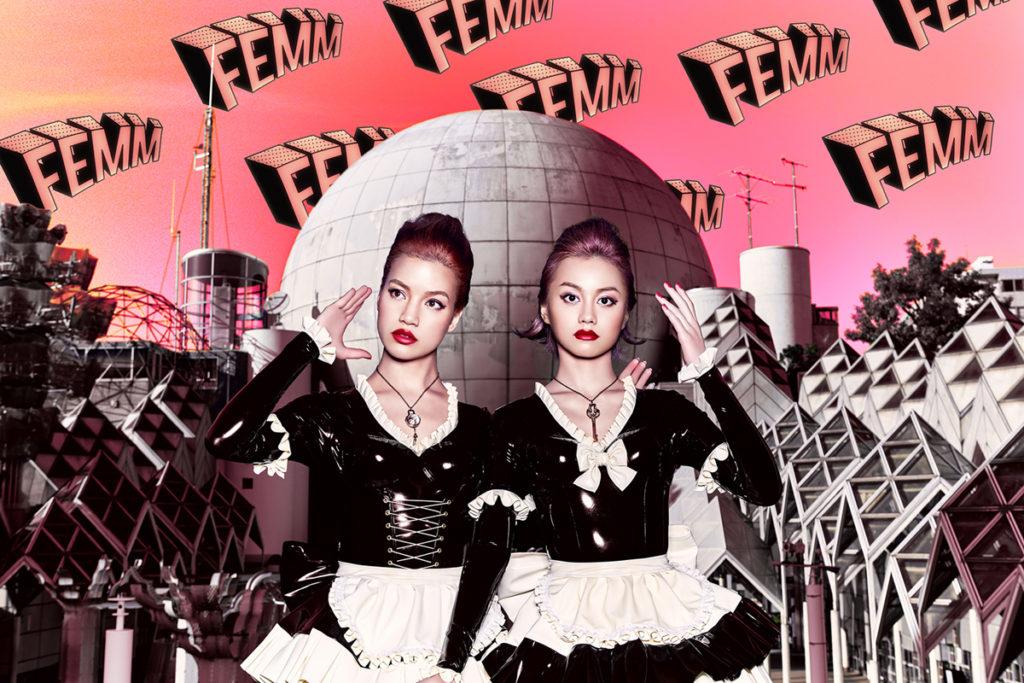 世界が恋したマネキン・デュオ「FEMM」のメジャーデビュー曲のミュージック・ビデオ解禁!サムネイル画像