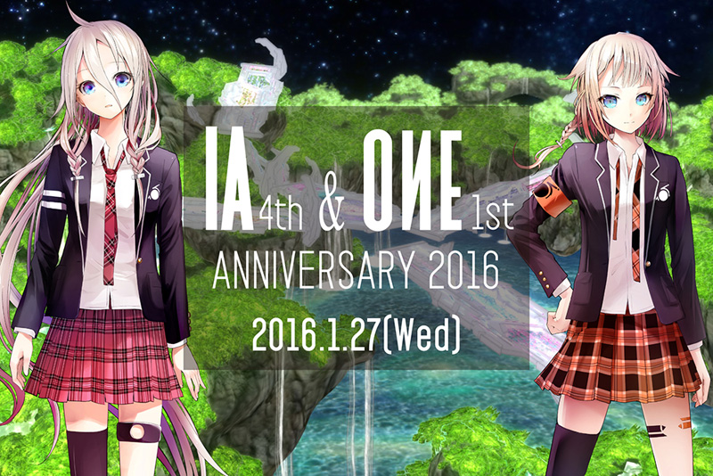 IA(イア)が4周年記念で、ワンマンライブ「PARTY A GO-GO」全編をニコ生放送で初公開サムネイル画像