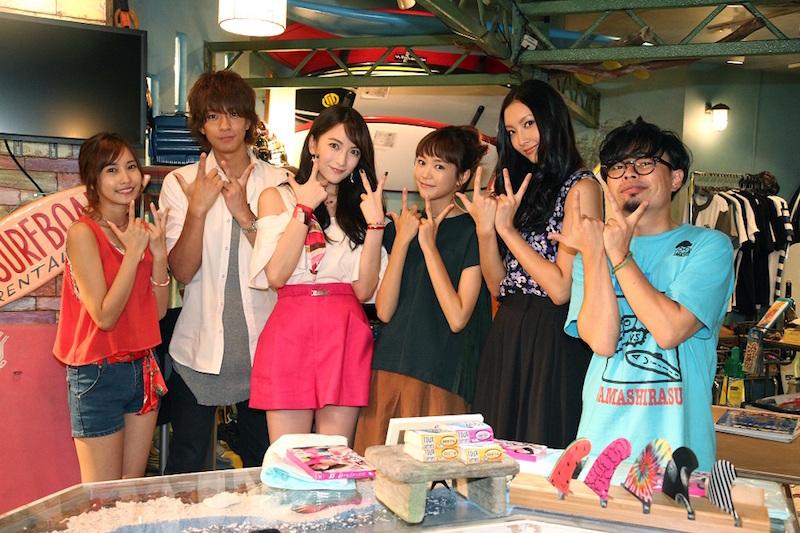 JY(=知英)、桐谷美玲、三浦翔平、菜々緒ら月9「好きな人がいること」メンバーとの記念写真公開