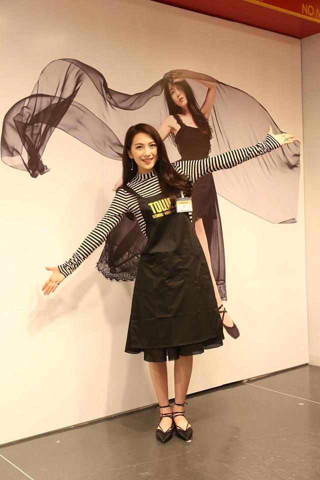 JY=知英(ジヨン:元KARA)タワーレコード渋谷店で1日ストアマネージャーに就任!サムネイル画像