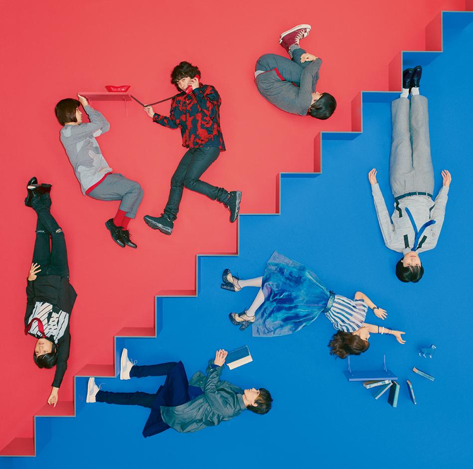KANA-BOON / シナリオアート、11月11日発売スプリットシングル「talking / ナナヒツジ」ジャケット写真公開