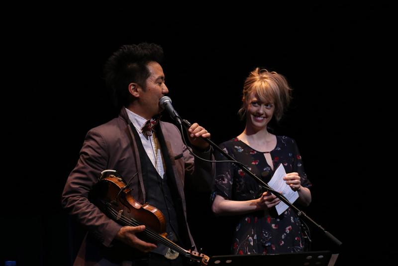 「マッサン」のエリーがステージに飛び入り参加!世界中のCMソングを手がける天才日系アーティストKishi Bashi来日公演開催サムネイル画像