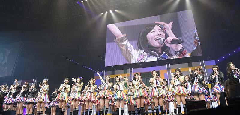 SKE48、宮澤佐江卒業コンサートを久々の地元日本ガイシホールで開催サムネイル画像