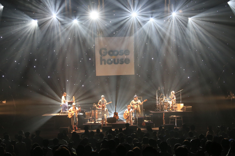 Goose houseツアーファイナルで新曲初披露&リリース詳細発表サムネイル画像