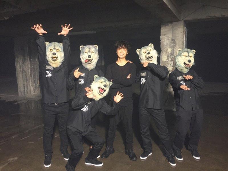 綾野剛、主演映画『新宿スワン』主題歌のミュージックビデオ出演でマンウィズとコラボサムネイル画像