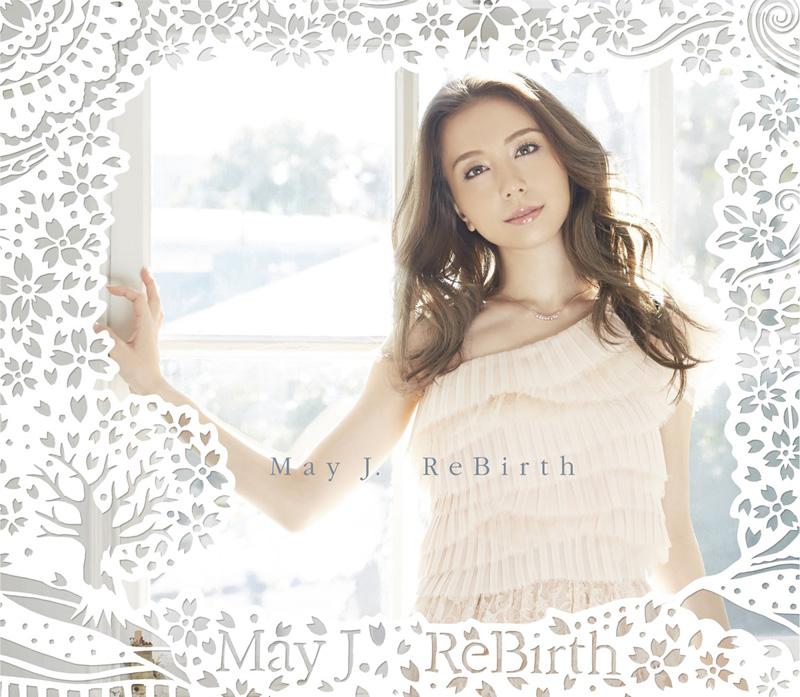 May J. 2月25日発売シングル「ReBirth」の新ビジュアル&ジャケット写真を解禁サムネイル画像