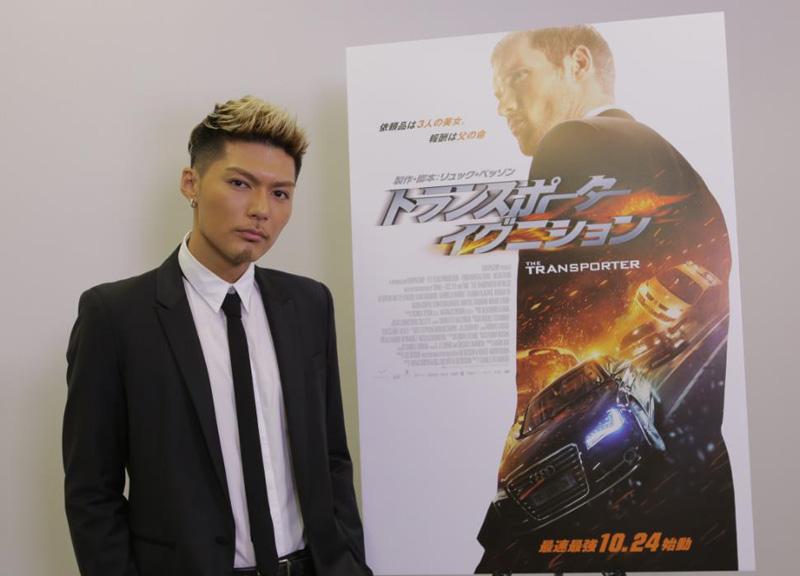 EXILE SHOKICHIの新曲「IGNITION」が大ヒットシリーズ映画「トランスポーター イグニション」の日本版主題歌に決定サムネイル画像