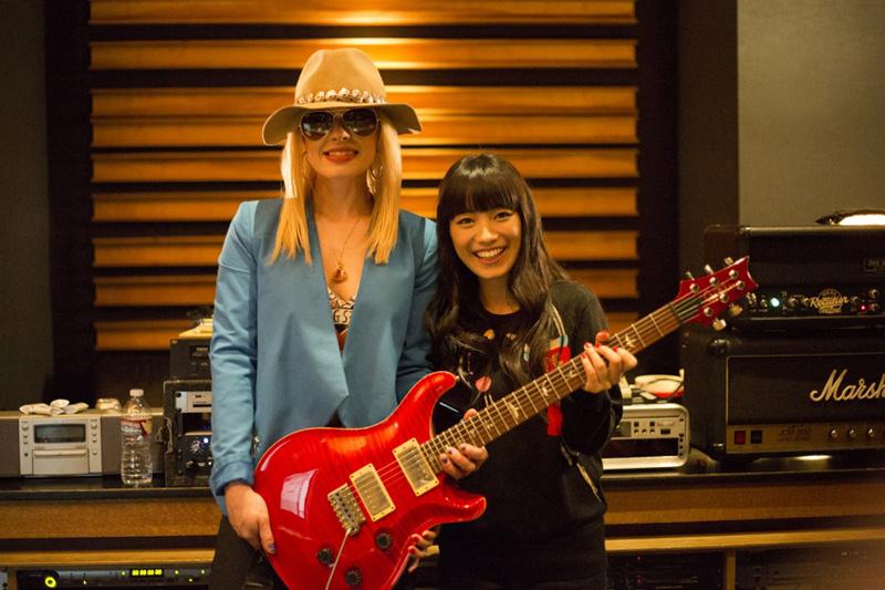miwa、ニューアルバムで初の海外レコーディング敢行!マイケル・ジャクソン最後のギタリスト、オリアンティが参加サムネイル画像