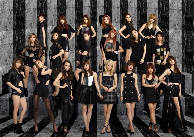 """「新しい、COOLなE-girlsを」E-girls 2カ月連続""""夏シングル""""第2弾「Pink Champagne」MVで""""80'sと現代の融合""""サムネイル画像"""