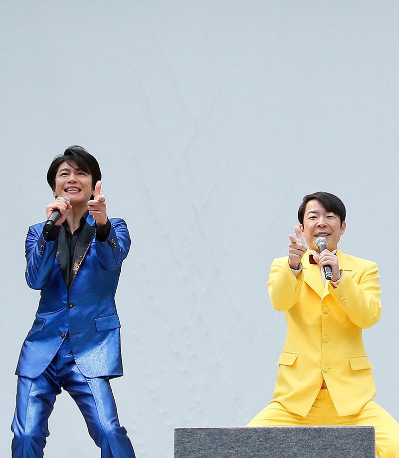 及川光博、19年振りのリリース記念イベントにダンディ坂野がサプライズ登場!!ニューアルバムリリースも発表サムネイル画像