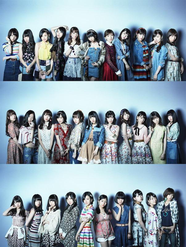 明日放送!「FNSうたの夏まつり」でAKB48、SKE48、NMB48、HKT48、乃木坂46、欅坂46らが一夜限りのSPコラボ。三代目JSB、E-girlsらEXILE TRIBEメンバーはSPメドレー披露サムネイル画像
