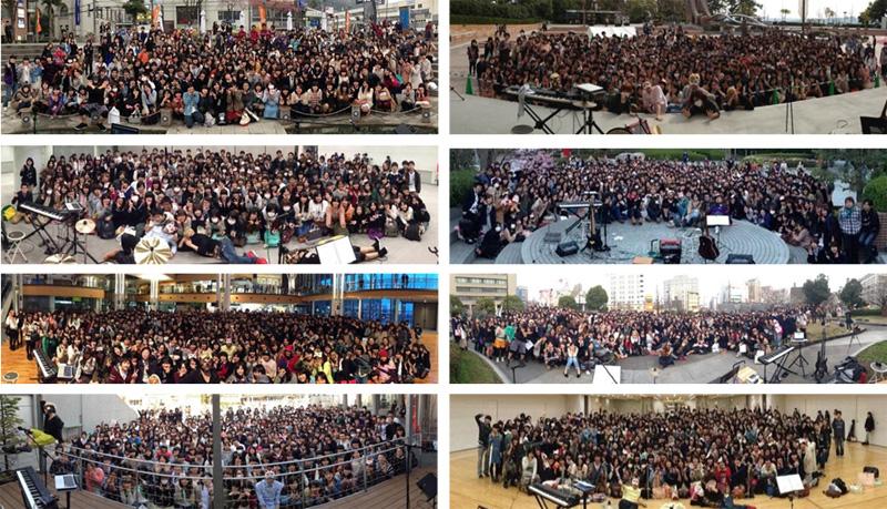 ネット発、全都道府県&世界の路上で10,000人以上を集める覆面2人組ユニットとは!?サムネイル画像