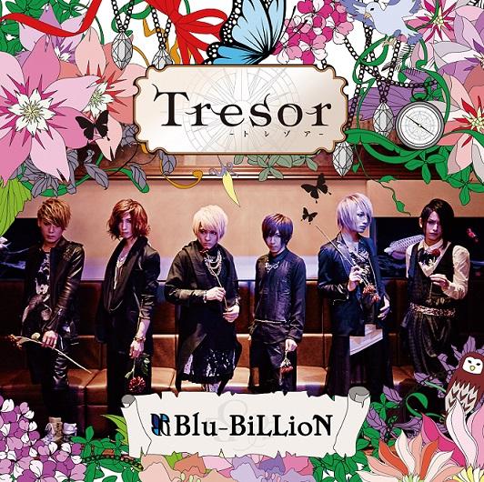 Blu-BiLLioN、新曲「Tresor -トレゾア-」のスポット映像、ジャケット写真解禁サムネイル画像