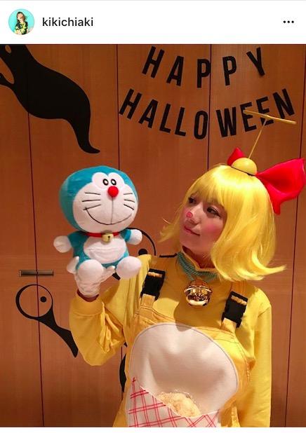 AAA伊藤千晃、高クオリティーの仮装姿写真公開に「可愛すぎる」「予想外」「細かいところまでのこだわりがすごい」サムネイル画像