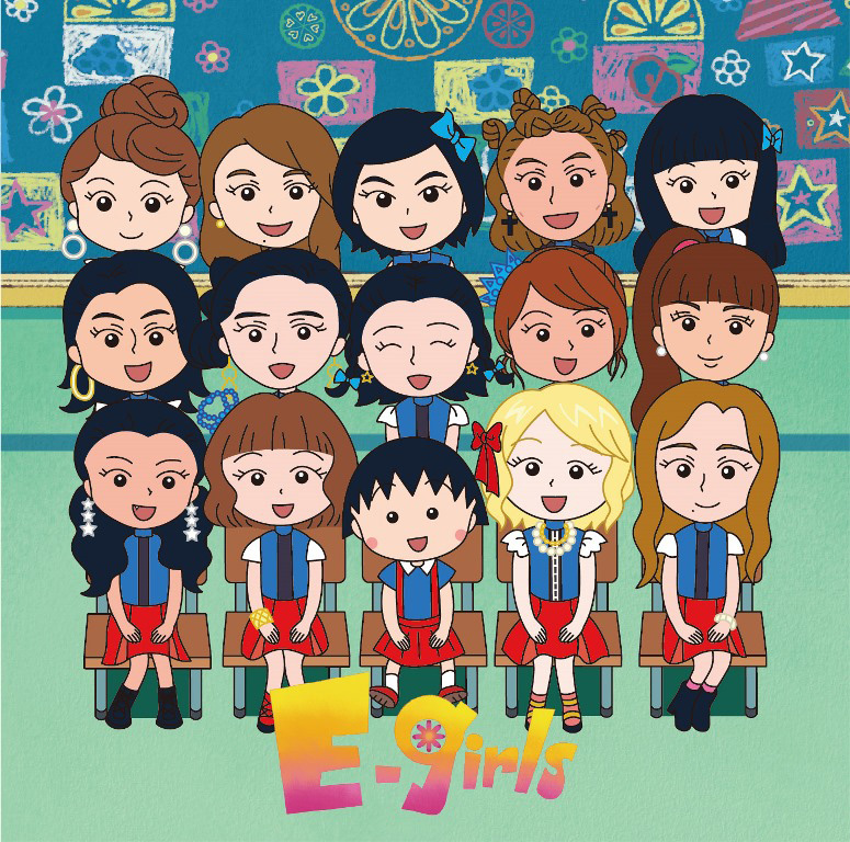 ちびまる子ちゃんの世界とE-girlsがコラボしたOPアニメの続編公開サムネイル画像